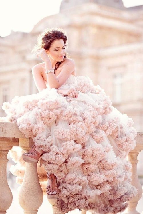 Wedding-Philippines-Blush_Wedding_Gown_Dresses-blush-ruffled-ombre-wedding-dress-for-spring-wedding