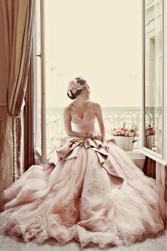 Wedding-Philippines-Blush_Wedding_Gown_Dresses-sweetheart-blush-pink-tulle-wedding-dress