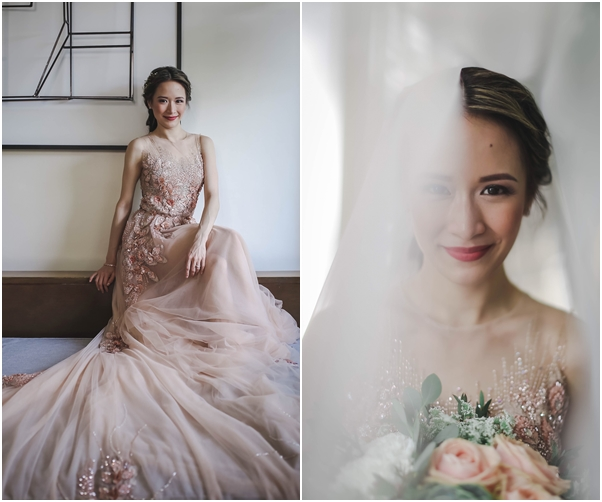 Elegant Teal And Gold Boracay Wedding