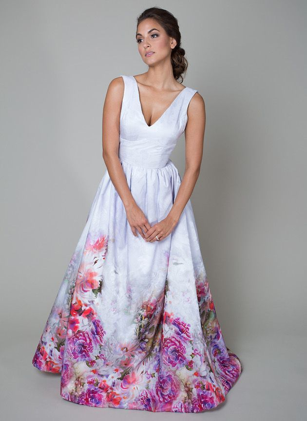 Wedding_Philippines_Beautiful_Floral_Inspired_Wedding_Dresses_Fuchsia-And-Lilac-Heidi-Elnora-Printed-Floral-Wedding-Dress