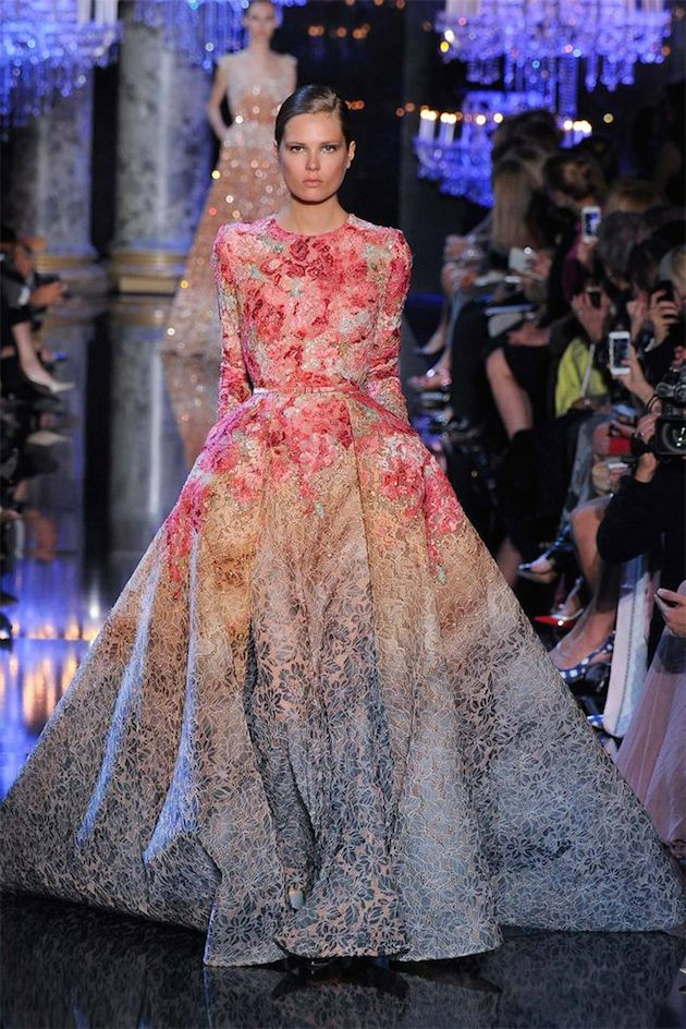 Wedding_Philippines_Beautiful_Floral_Inspired_Wedding_Dresses_Ombre-Bricade-Elie-Saab-Printed-Wedding-Dress