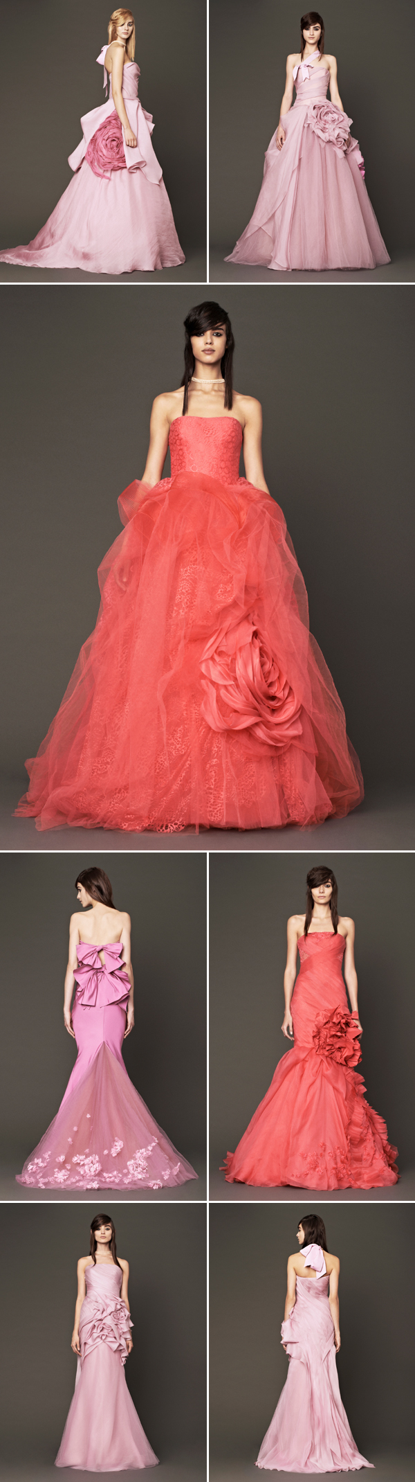 Wedding_Philippines_Beautiful_Floral_Inspired_Wedding_Dresses_Vera-Wang-Pink-and-Red-Floral-Wedding-Dresses