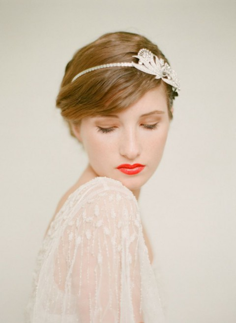 15 Chic Wedding Hairstyles For Short Hair Wedding