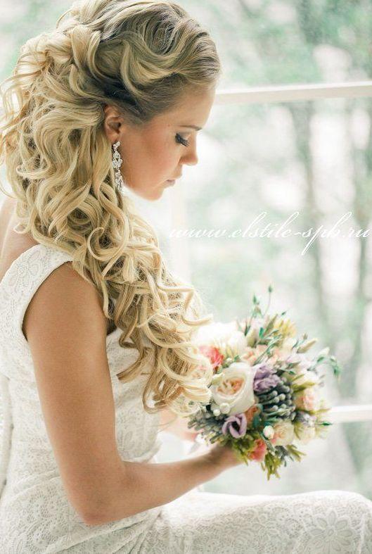 38 Gorgeous Half Up Down Wedding Hairstyles