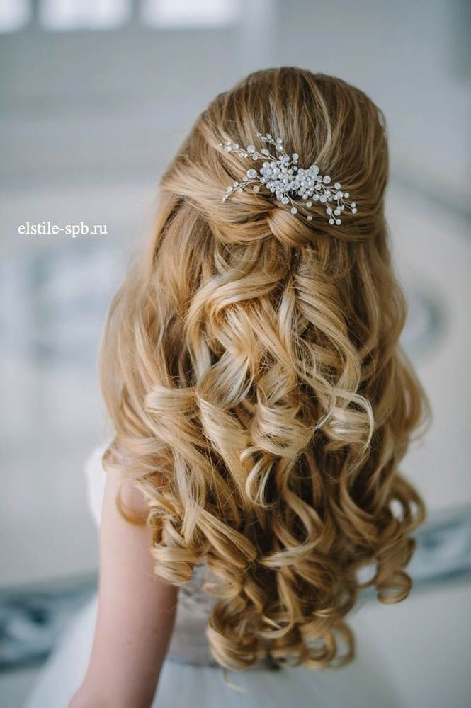 38 Gorgeous Half Up Down Wedding Hairstyles