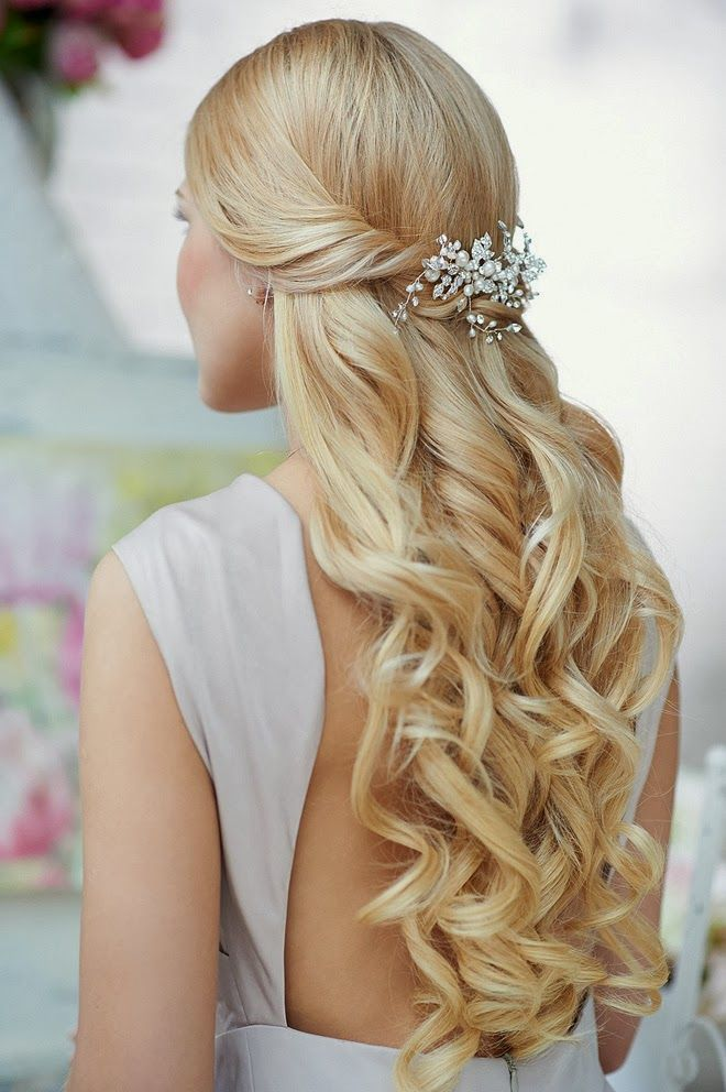 38 gorgeous half up half down wedding hairstyles wedding 38 gorgeous half up half down wedding hairstyles junglespirit Image collections